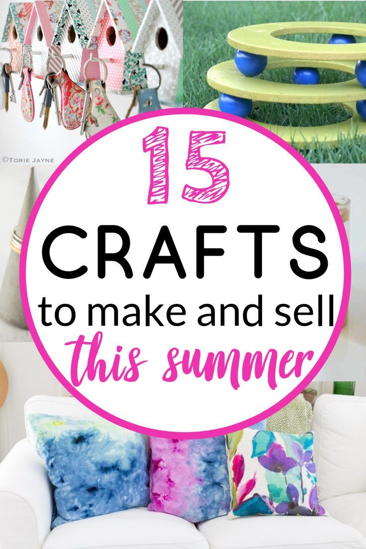 3 Easy Diy Storage Ideas For Small Kitchen: 15 Easy DIY Crafts To Make And Sell This Summer