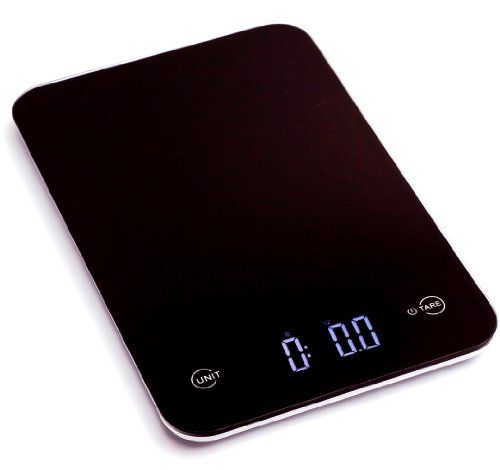 Ozeri touch professional digital kitchen scale 12 lbs for Professional food scale