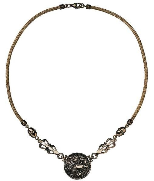 Necklace made by Kalevala Koru, 'Sun Lion' | Kalevala Koru: Aurinkoleijona