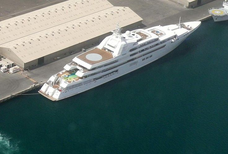 Top 13 Most Expensive Yachts in the World - Dubai - Rich and Loaded