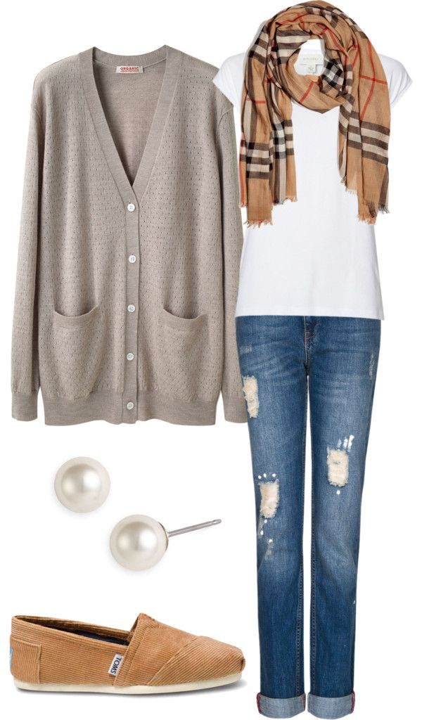 """""""Simple and comfy everyday winter outfit"""" by natihasi on Polyvore"""