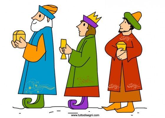 Wise men visuals / Wijzen uit het oosten, flanelplaat voor kleuters / Immagine Re Magi da stampare