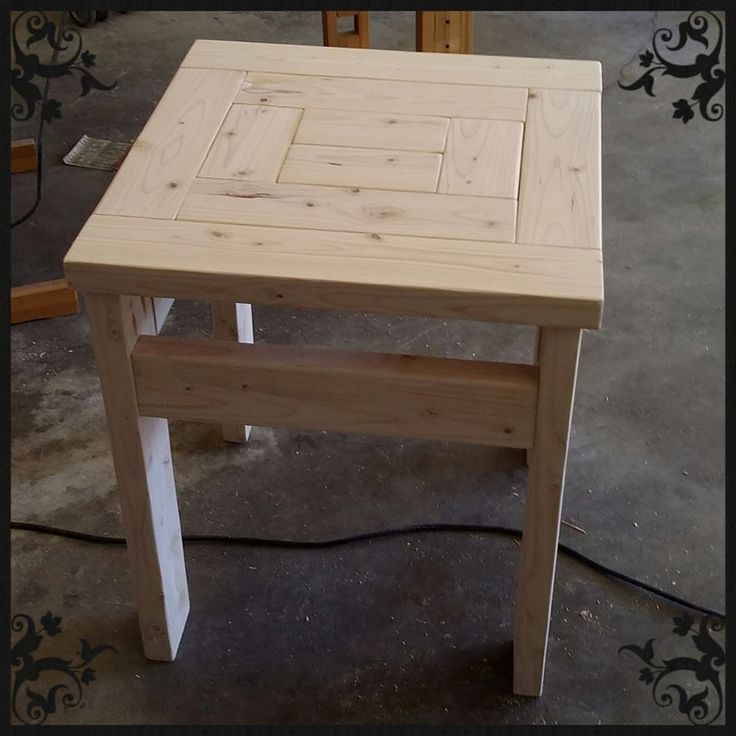 25 best ideas about End table plans – Make Your Own End Table