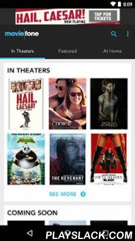 Moviefone - Movies & Showtimes  Android App - playslack.com ,  Moviefone is the ultimate app for movie times, theater listings, TV show info, trailers, reviews, movie & TV news, and more. Our intuitive, streamlined design helps you find movies in theaters and movies and TV shows online. Quickly find the theater where your movie is playing, browse showtimes, find where movies and TV shows are streaming or binge-watch trailers. The choice is yours.MORE AWESOME FEATURES:• Filter movie…