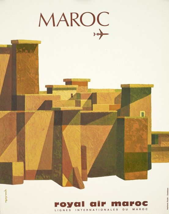 Morocco • Royal Air Maroc #travel #poster