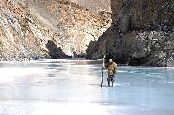 Chadar Trek, Jammu & Kashmir - The 'Frozen River Trek' or 'The Alaska of India'