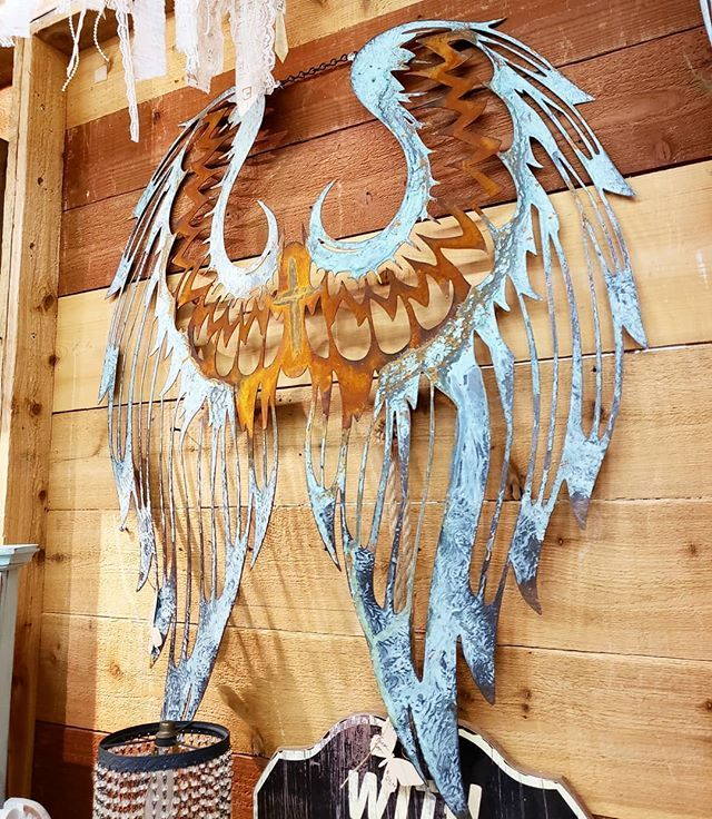 Stunning Custom Hand Made Angel Wings So Amazing Thank You Mar Lees Inspiration For All Your Lovelies Come In Today To Find Wings Shabby Decor Inspiration