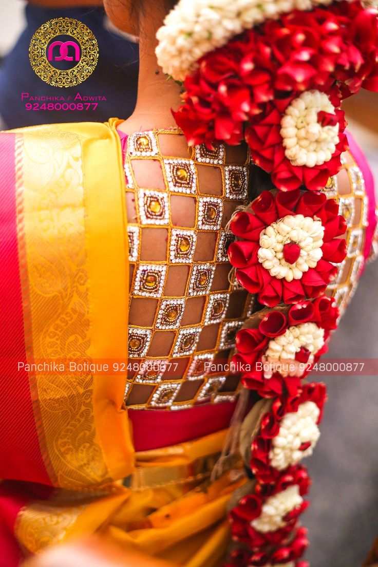 For OrdersPlease email/inbox us for price details WhatsApp:+919248000877 Email:panchika.contact@gmail.com Designerblouses maggamworks Blouses Bridalwear wedding workblouses southindianwedding panchikacouture 02 December 2016