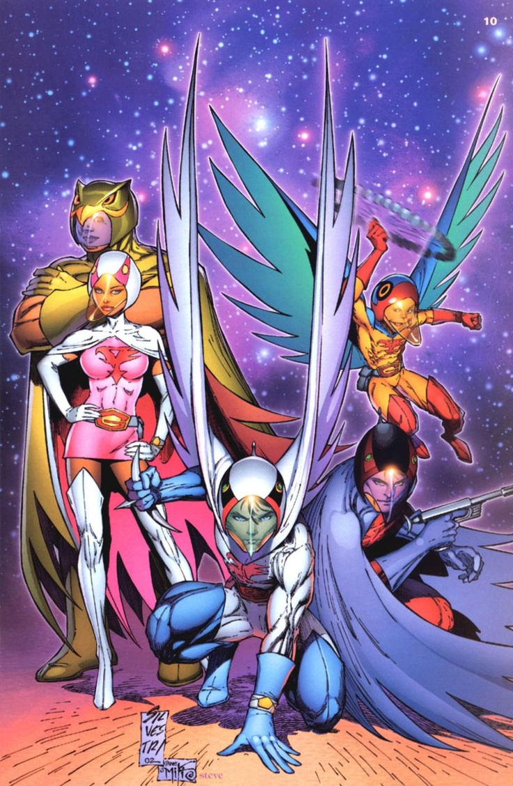 """Battle of the Planets- I'm fully aware that this wasn't the original art style and that the anime is actually called """"Gatchaman"""" but I had to go through so much effort just to finish the first series. But it's just too old school to ignore."""
