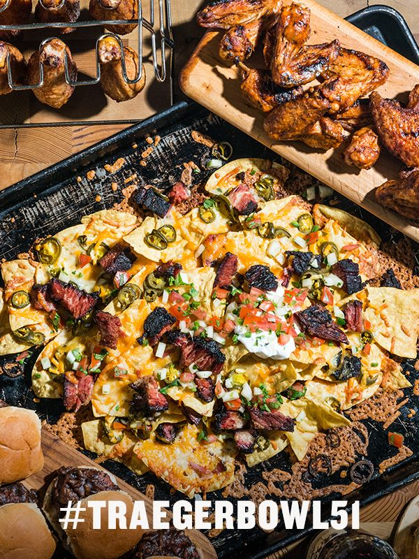We've collaborated with The Dan Patrick Show to bring you 8 touchdown recipes for Game Day. Feed your crew monster brisket nachos, St. Louis BBQ Ribs, or a mountain of saucy chicken wings. Get the free eBook.