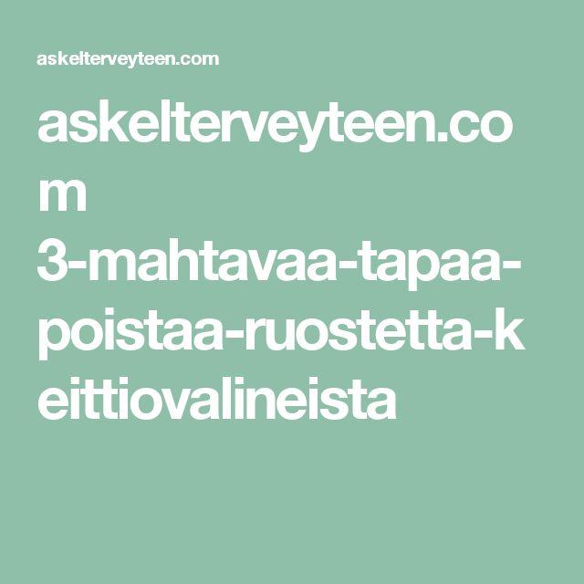 askelterveyteen.com 3-mahtavaa-tapaa-poistaa-ruostetta-keittiovalineista