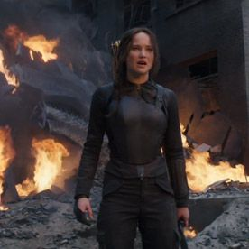 The Final The Hunger Games: Mockingjay – Part 1 Trailer Has Arrived  #InStyle