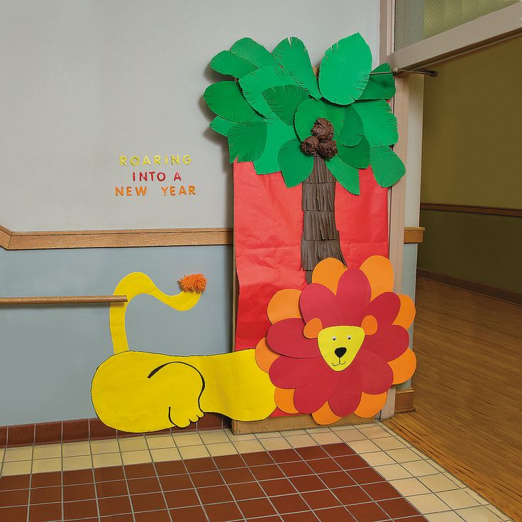Classroom Decor Jungle ~ Best ideas about jungle door on pinterest