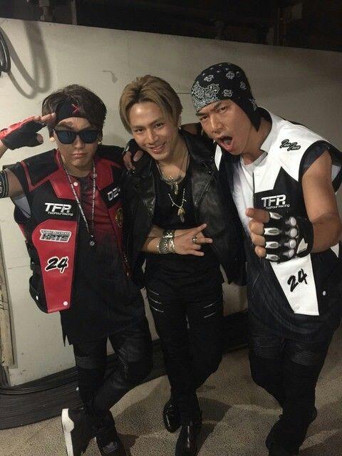 Tosaka Hiroomi & Naoto & Akira