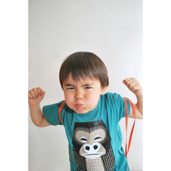 T-shirt enfant - Mibo - Gorille