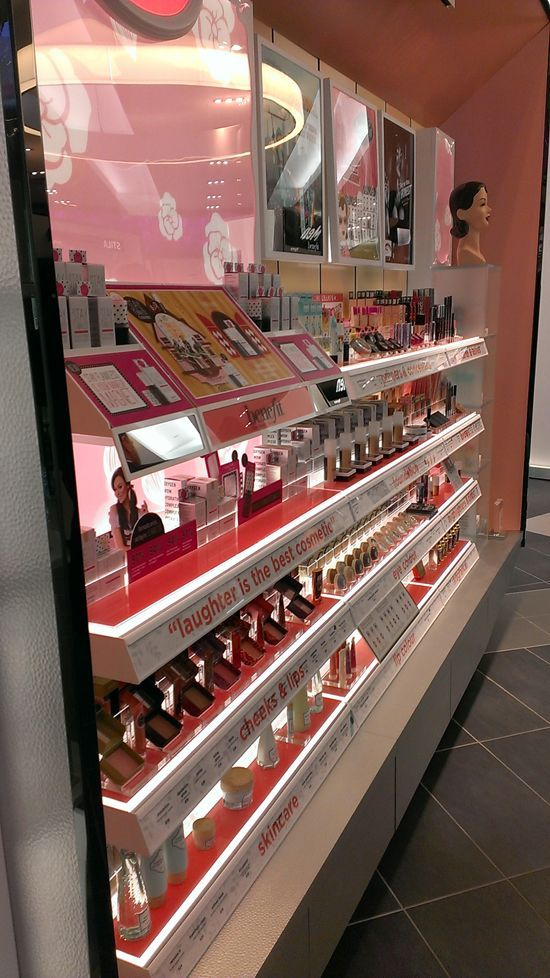 Image result for YSL Skin care dept store display