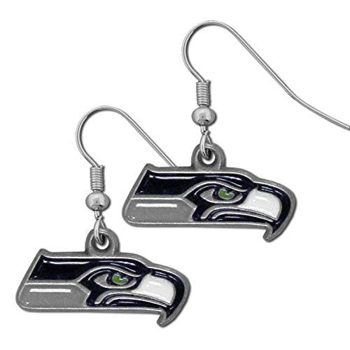 NFL Dangle Earrings  https://allstarsportsfan.com/product/nfl-dangle-earrings/  Officially licensed NFL product Licensee: Siskiyou Buckle Dangle earrings with an athletic twist These classic earrings come on hypoallergenic fishhook posts