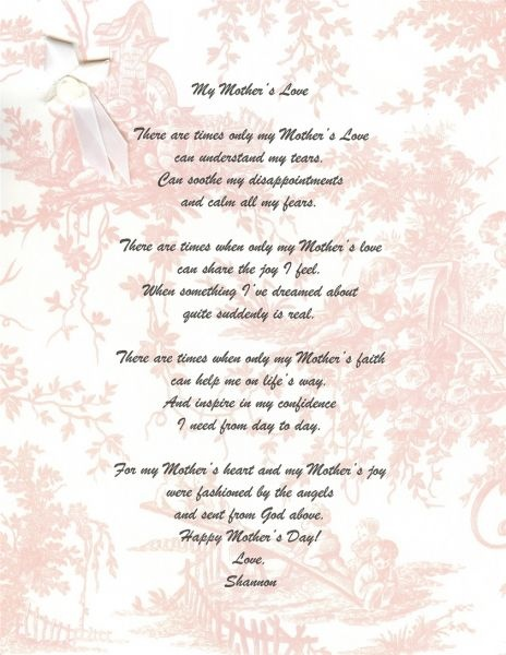 Mothers Day Poems For The Deceased Mothers Day Poemsmothers Day Poetrypoems For Mothers Day