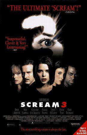 Scream 3 with Neve Campbell, David Arquette, Courteney Cox, Patrick Dempsey andLliev Schreiber