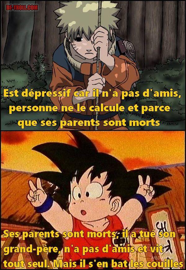 Goku 1 – Naruto 0 !