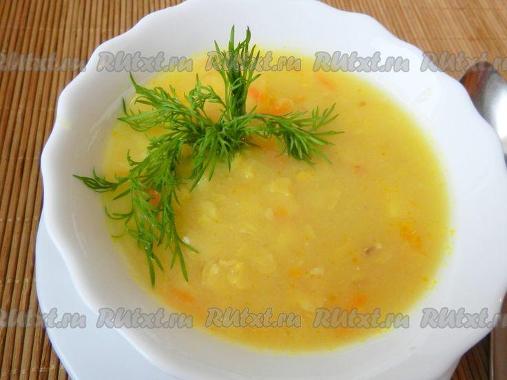 Гороховый суп с курицей приготовление