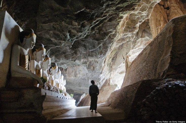 Yathae Pyan Cave, Birmanie