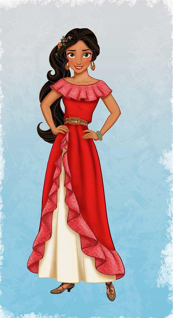 Your Daughter's Next Favorite Disney Princess Is a Latina Teen Named Elena