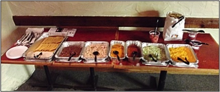 Beltline Bar's FAMOUS Taco Bar!!  Comes with everything imaginable!  Most Popular! #4gr8