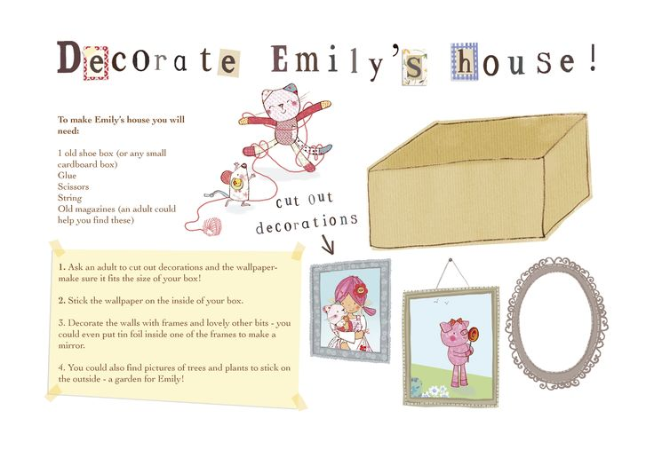 Emily Button decorate Emily's house 1  www.emilybutton.co.uk