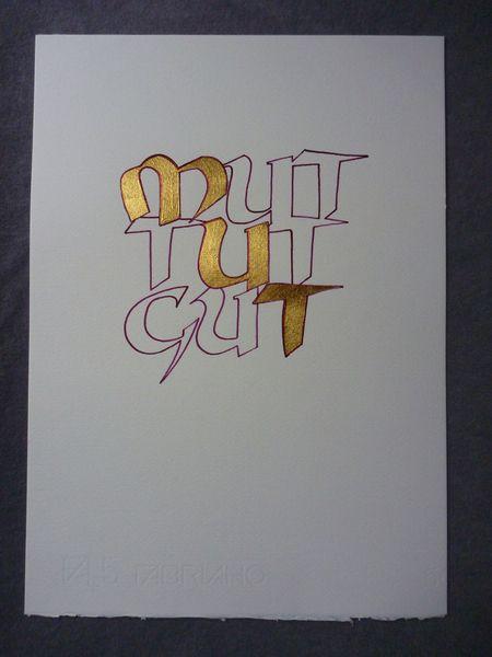 Kalligrafie+von+Die+Feder+auf+DaWanda.com                              …