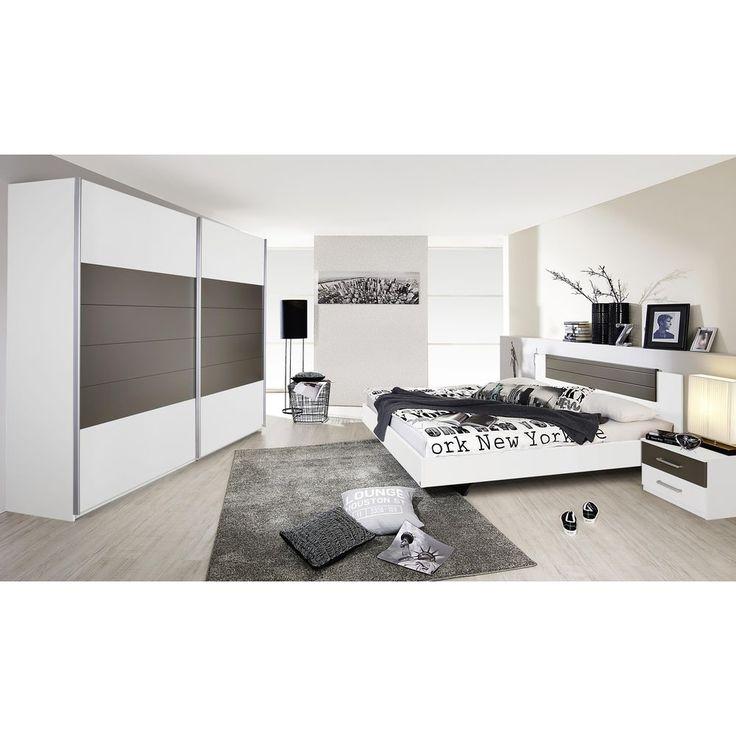 Schlafzimmer Set Barcelona 4tlg. in verschiedenen Maßen Alpinweiß Lava Jetzt bestellen unter: https://moebel.ladendirekt.de/schlafzimmer/komplett-schlafzimmer/?uid=8032211b-2444-525d-bf4b-25e1939a90dd&utm_source=pinterest&utm_medium=pin&utm_campaign=boards #komplettschlafzimmer #günstig #barcelona #alpinweiß #schlafzimmer #rauch