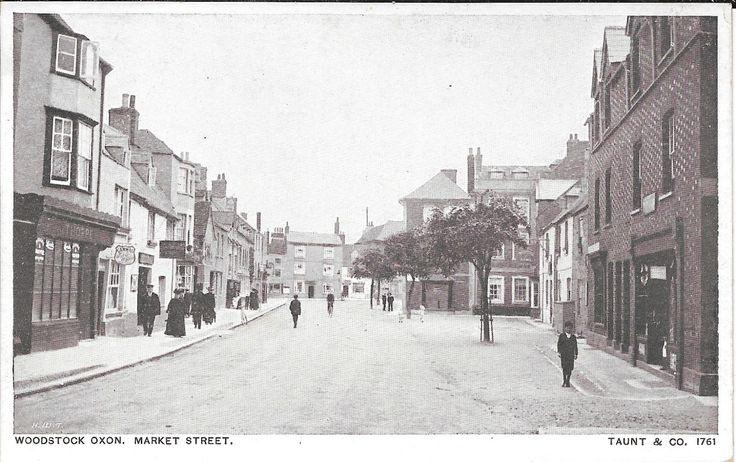 Postcard of Market Street, Woodstock, Oxfordshire   eBay