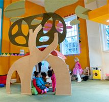 The Little Treehouse - Playhouse and Music/Art/Gymnastic Classes in Chestnut Hill, PA - $8.50 per child or 10 plays for $55
