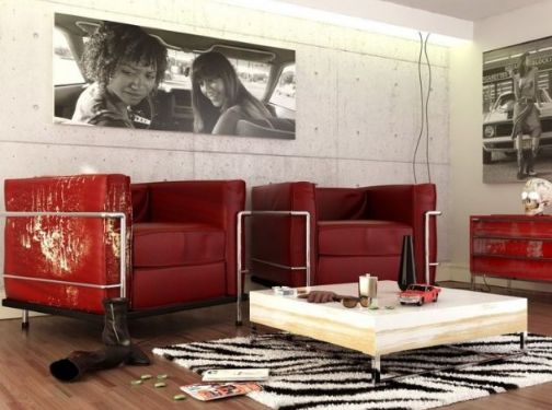 10 Outstanding Red&White Living Rooms That Are Simply Amazing | Home Design Ideas