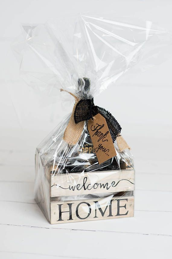 Realtor Home Closing Thank You Gift