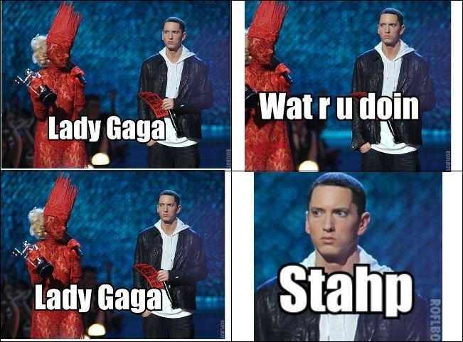 Gaga stahp | Lady gaga, Laughing and Facial expressions