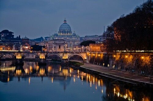 There is a city called Rome on every continent...so ..go to Rome hah