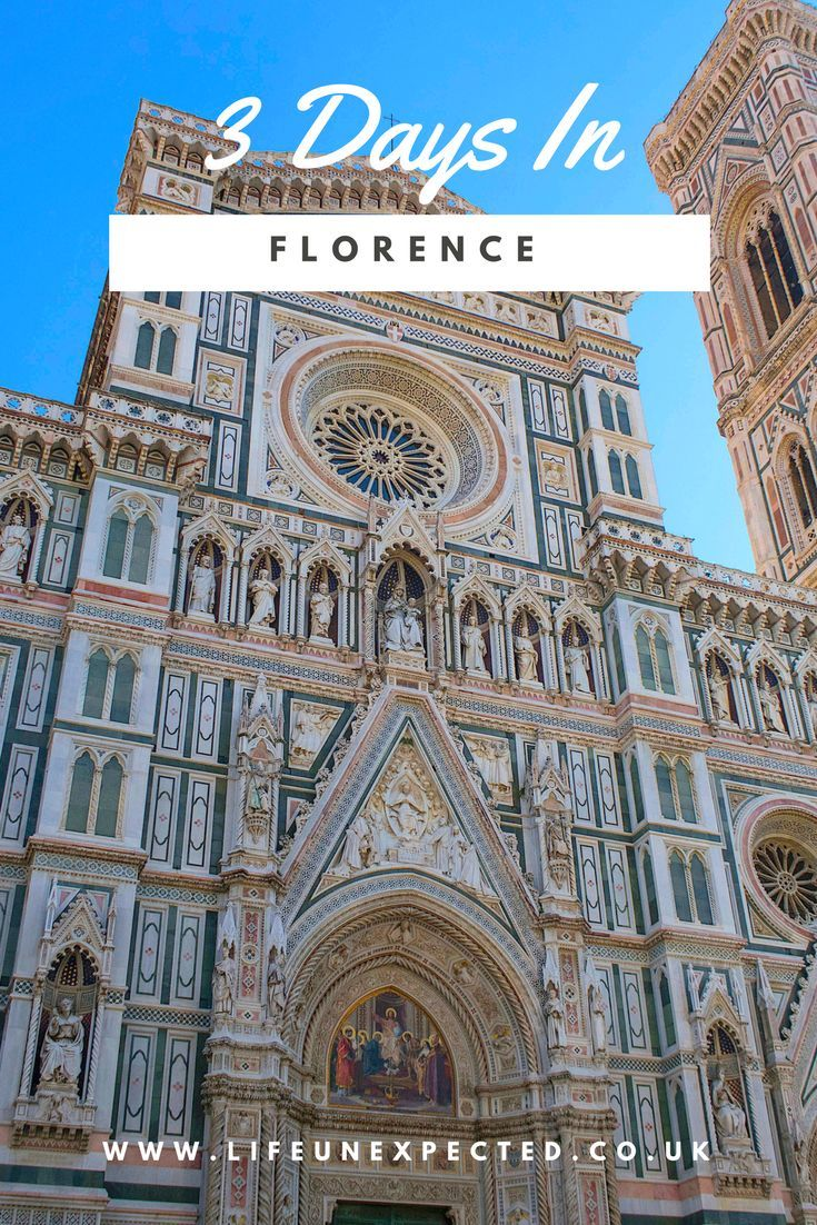 How To Spend 3 Days In Florence: The Complete Itinerary· Make the most out of this beautiful Italian city and the birthplace of the Renaissance! Use this itinerary to plan the perfect trip to Florence, Italy.  Florence City Breaks | Holiday To Florence | 3 Day Break To Florence | Best Restaurants In Florence | City Break To Florence | Short Break To Florence | Family Break To Florence | Things To See Eat and Do In Florence | Kids In Florence | Romantic Florence | Things You Must Do In Flor