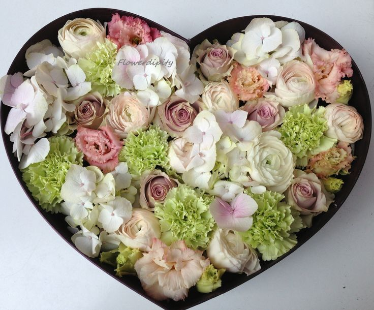 Heart full of flowers  #special #love #flowers #heart