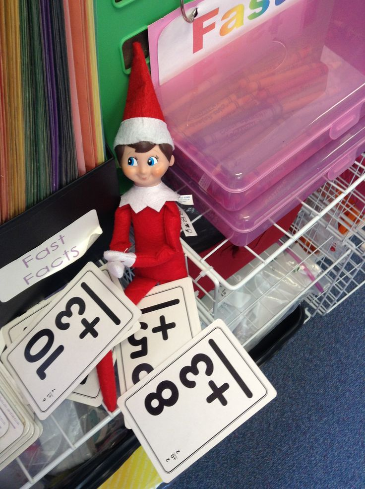 Does our #elfontheshelf get up to mischief at night? You can count on it.