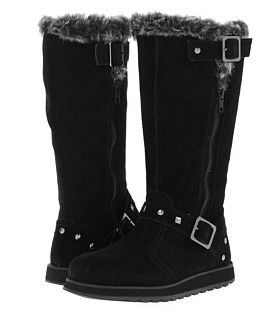 Adorbs Sketcher boots with buckle and studs to keep your tootsies warm!! #sketcherboots #boots