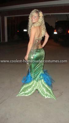 Mermaid Costume back