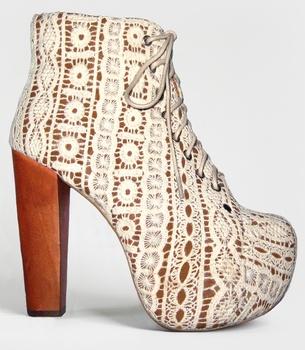 jeffrey campbell lace lita platform boots