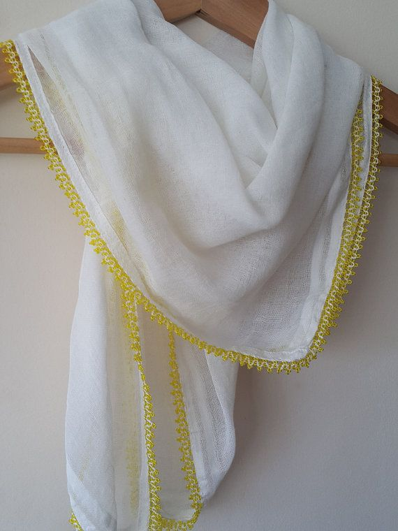 Check out this item in my Etsy shop https://www.etsy.com/listing/279553740/turkish-scarf-cheesecloth-yellow-beaded