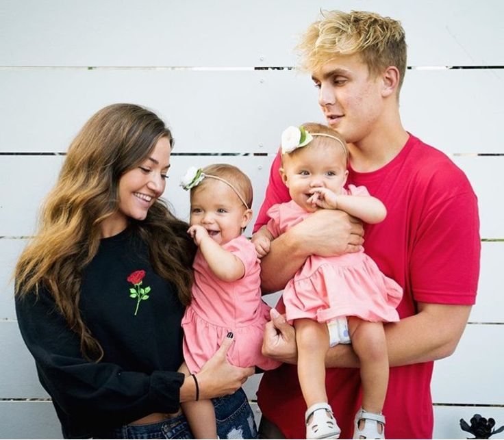 Jake and Erika with the twins OR THEIR FUTURE KIDS