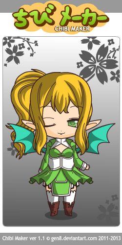 Leafa (Sword Art Online) Chibi Maker