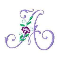 Free Embroidery Machine Design Monogram59 -A | Gosia Design