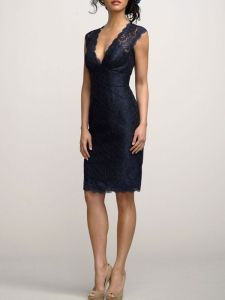 Lace cocktail dress: outside my comfort zone, but I think I could do it for special occasions.
