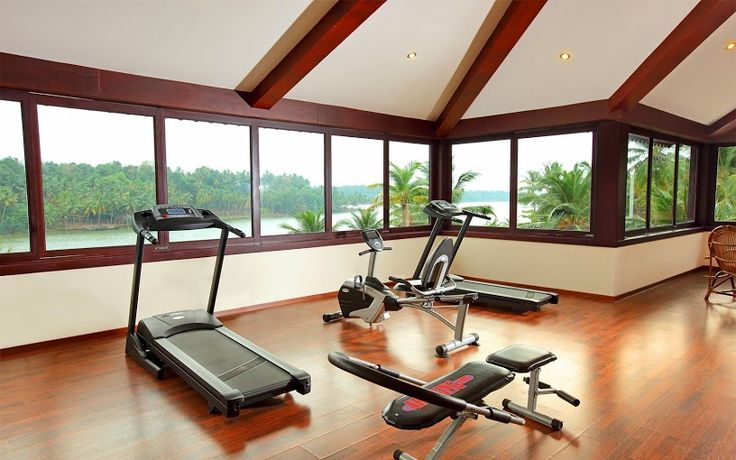 The #Resort is also well equipped with all #Gym facilities for all the fitness freaks! A #RareIndia #Retreat Explore More: http://bit.ly/VOPNID
