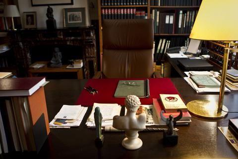 De werkkamer van Harry Mulisch